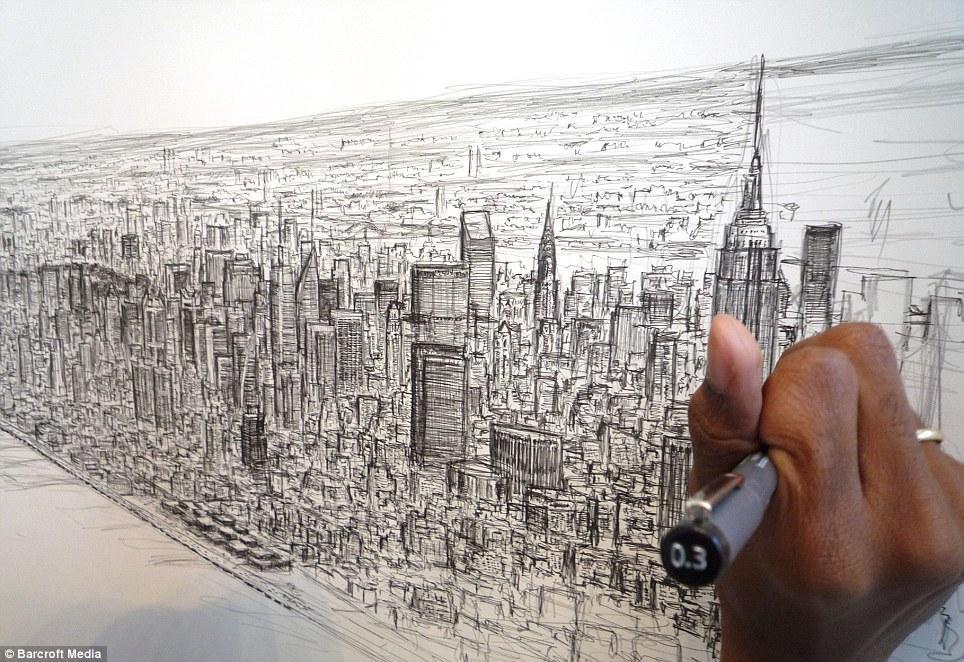 Stephen Wiltshire el joven autista que dibuj Nueva York