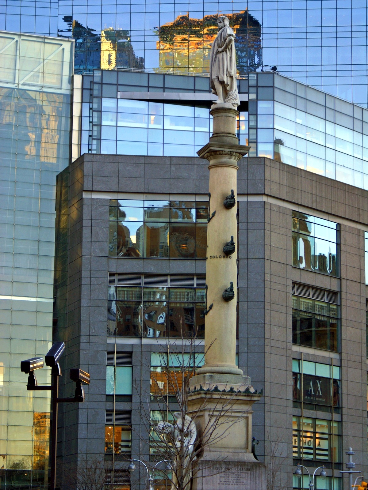 Monumento a cristobal col n nueva york historias de for B b new york centro