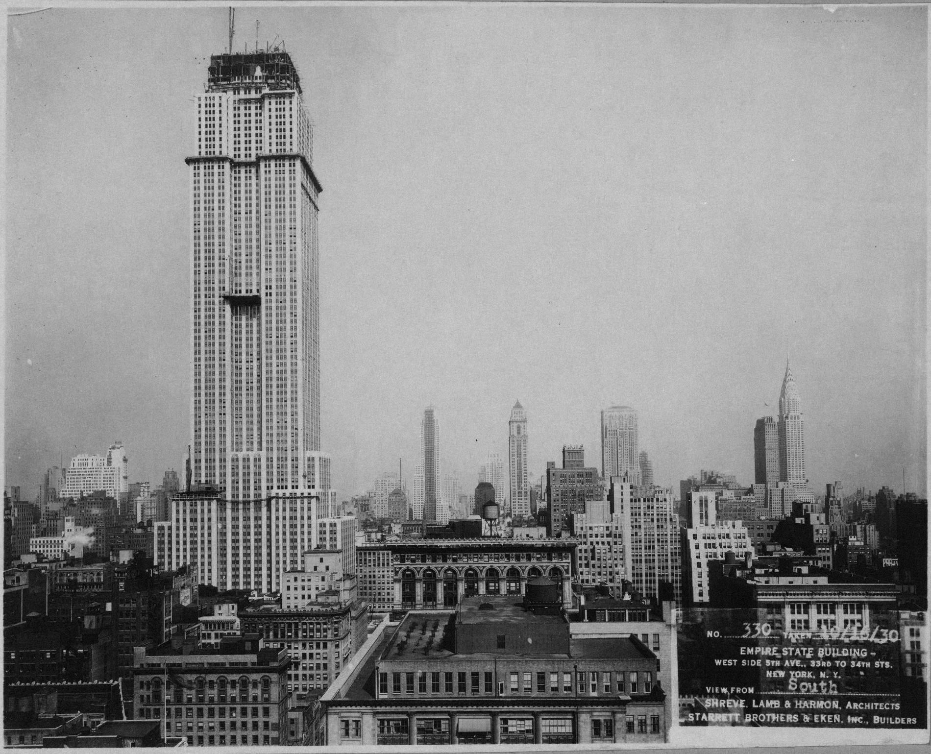 Empire state building historias de nueva york - Construction en rondins empiles ...