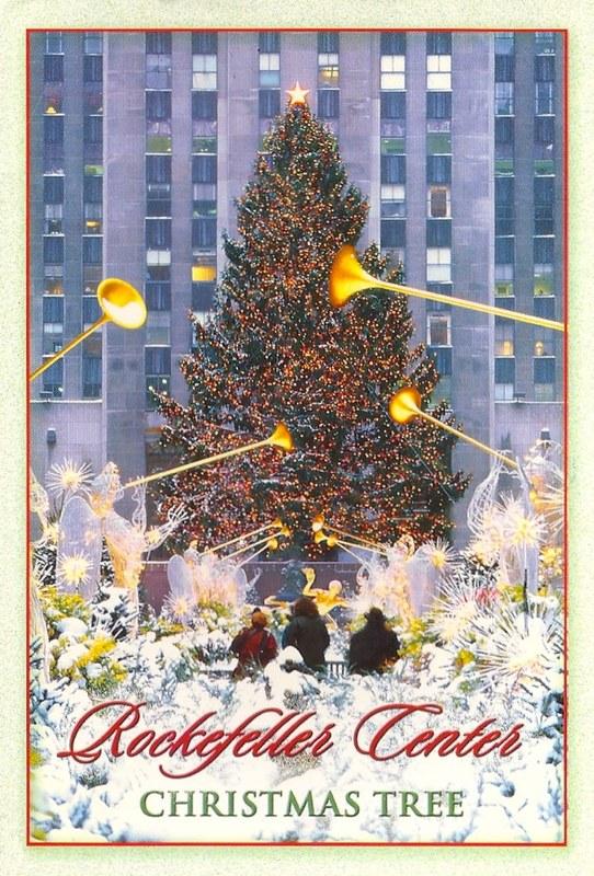 Christmas - Rockefeller Center in New York