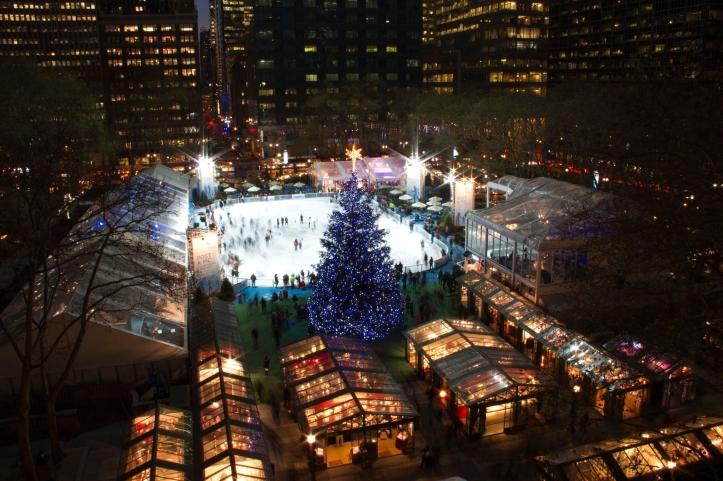 Navidad en Bryant Park