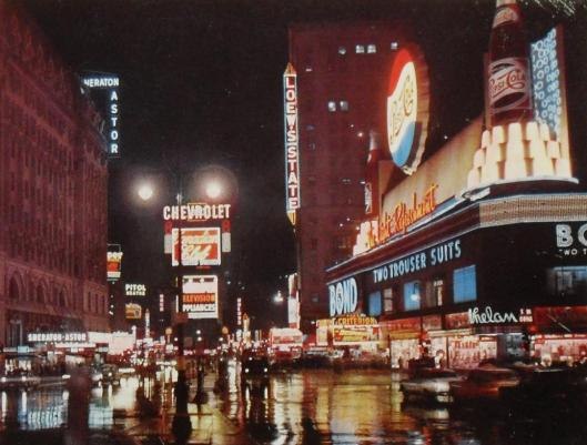 Times Square 1955