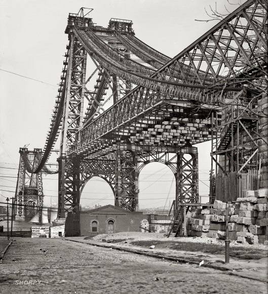 Williamsburg Bridge  1902