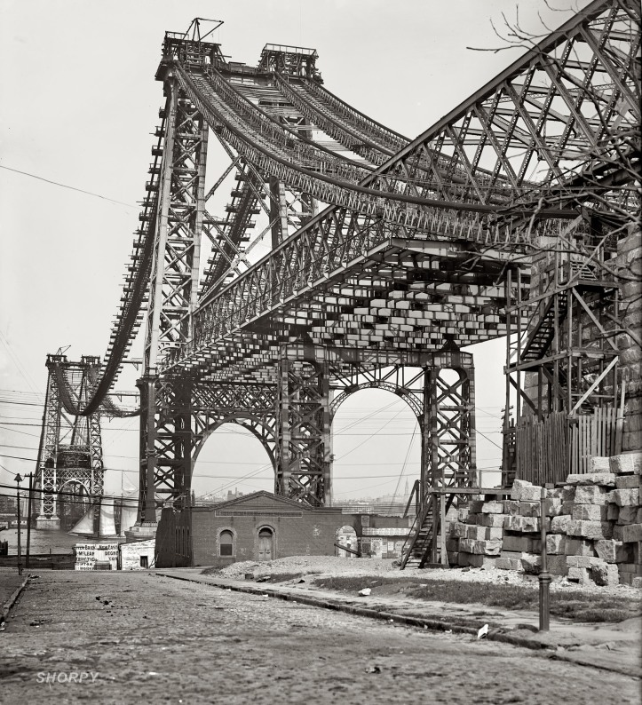 Williamsburg Bridge  1902