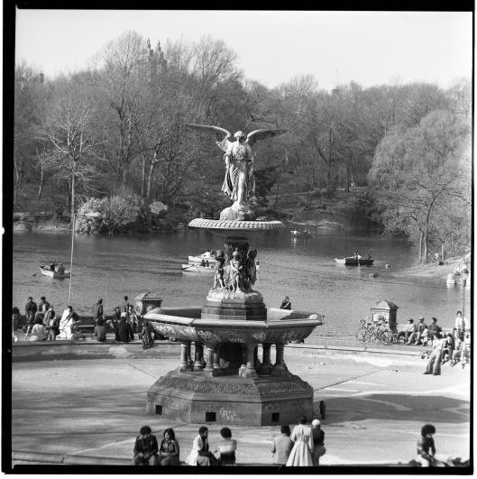 Bethesda Fountain 1975