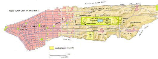 Central Park 1850