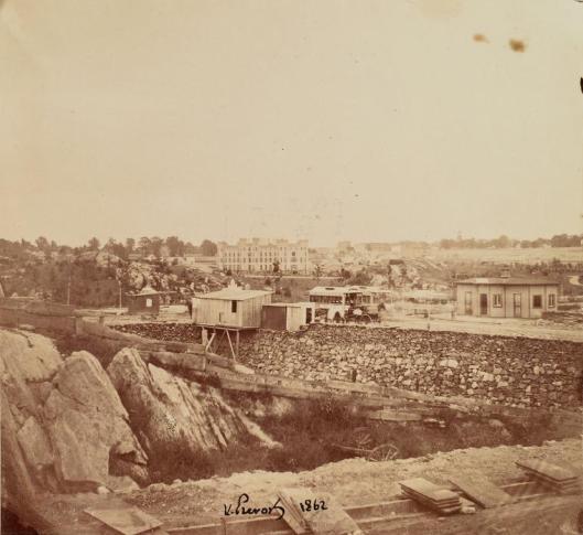Construcción de Central Park. 1862
