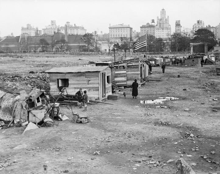 Gran Depresion en Central Park