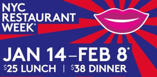 Restaurant Week Winter 2013
