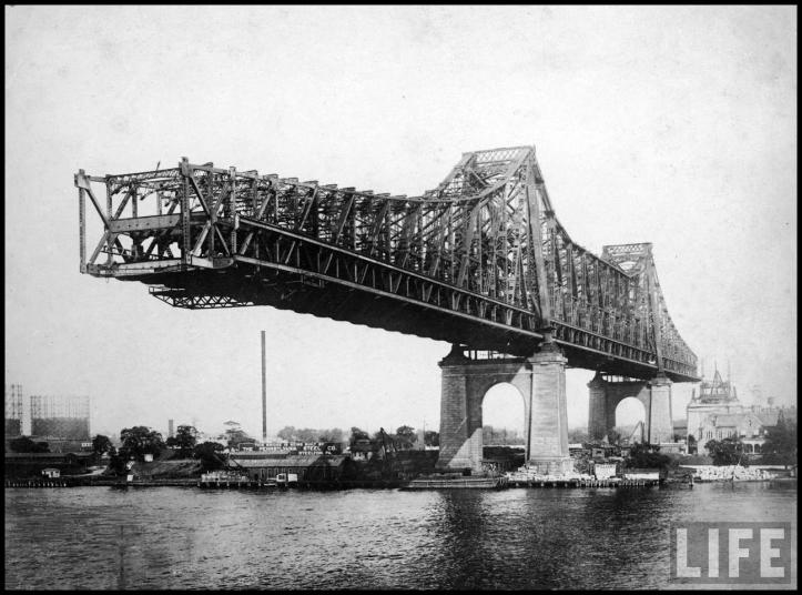 Queensboro Bridge en construcción (1907)