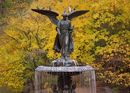 Central Park- Betsheda Fountain