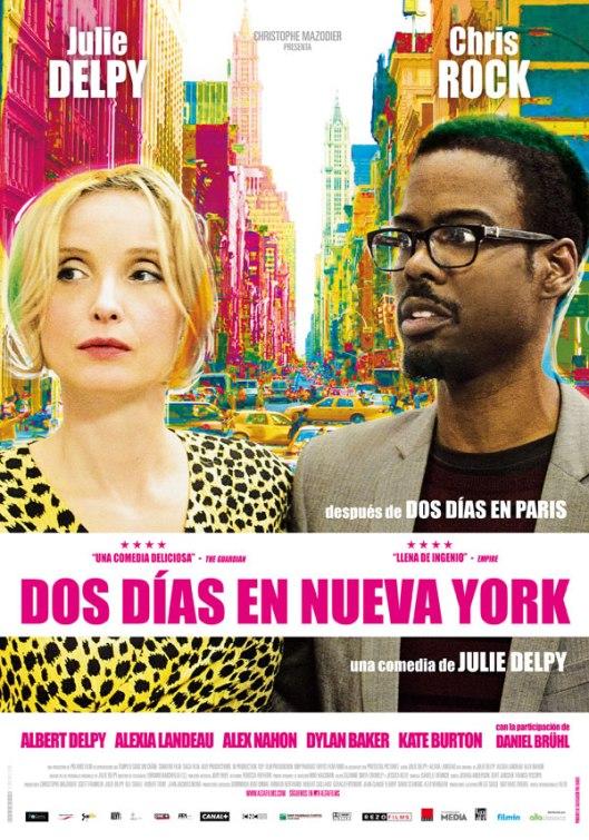 Dos días en Nueva York - cartel