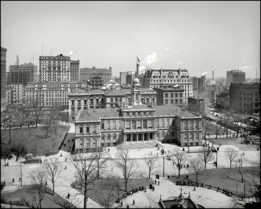 New York City Hall 1903