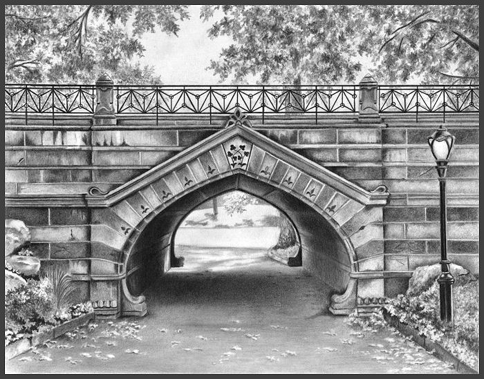 Paseos de domingo por Central Park Greywacke Arch 1862