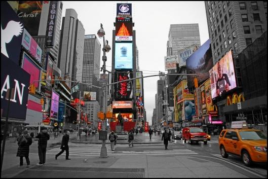 Colores de Times Square
