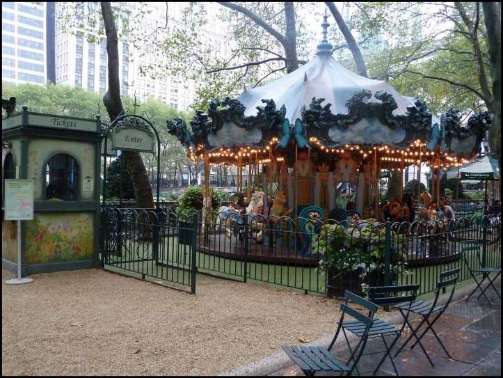 Le Carrousel in Bryant Park
