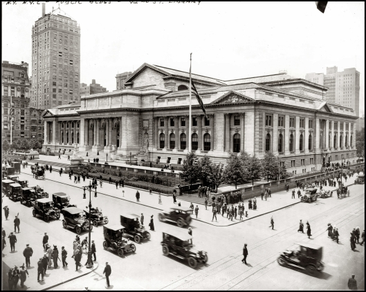 New York Public Library 1915