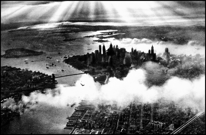 Sunset over NewYork City 1932 Manfred Curry