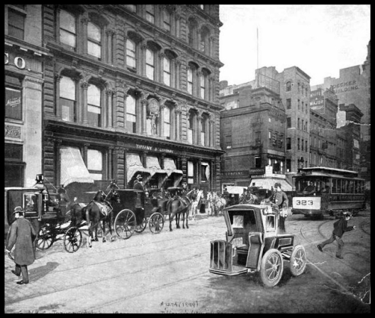 Union Square Tiffany & Co. - NYPL Collection