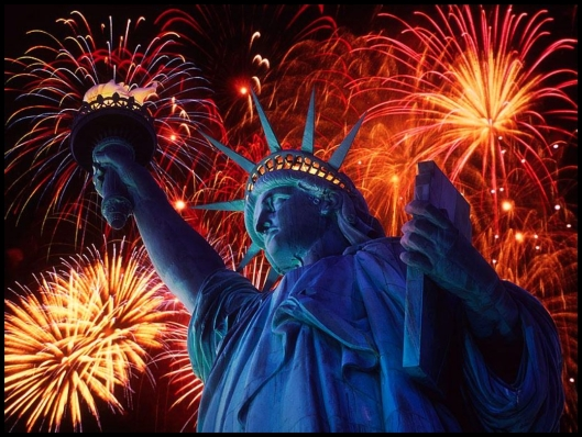 Estatua de la Libertad- 4 de julio