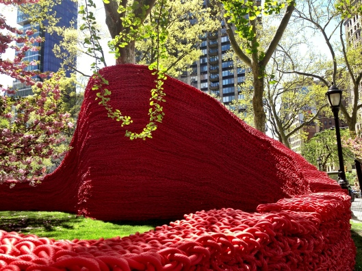 Red, Yellow and Blue en Madison Square Park 2