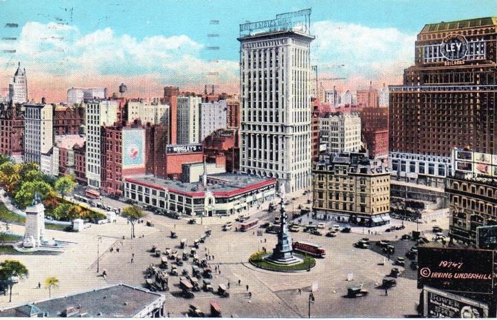 Columbus Circle 1920