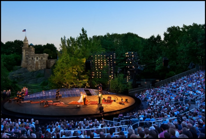 """Shakespeare in the Park"""