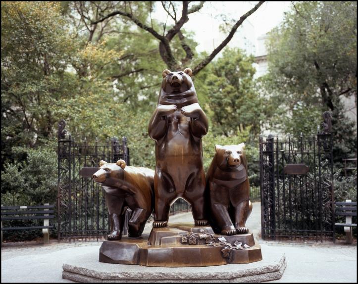 Group of bears.