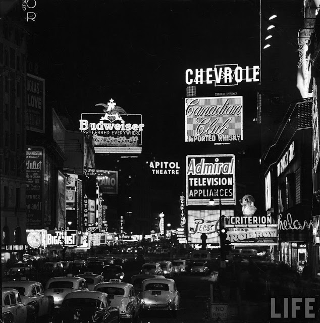 Times Square 1954
