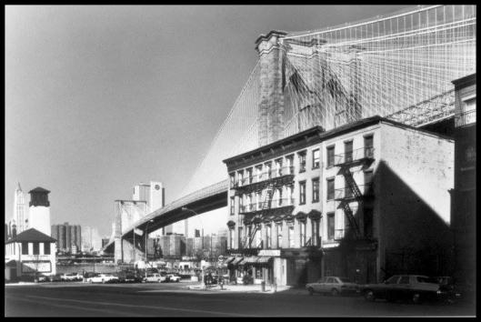 Brooklyn Bridge.  1983