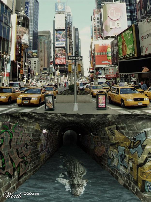 cocodrilo nueva york