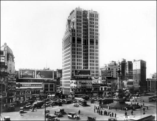 Columbus Circle (vista Oeste) - 1921