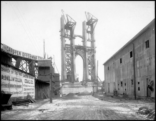 Manhattan Bridge,  1908