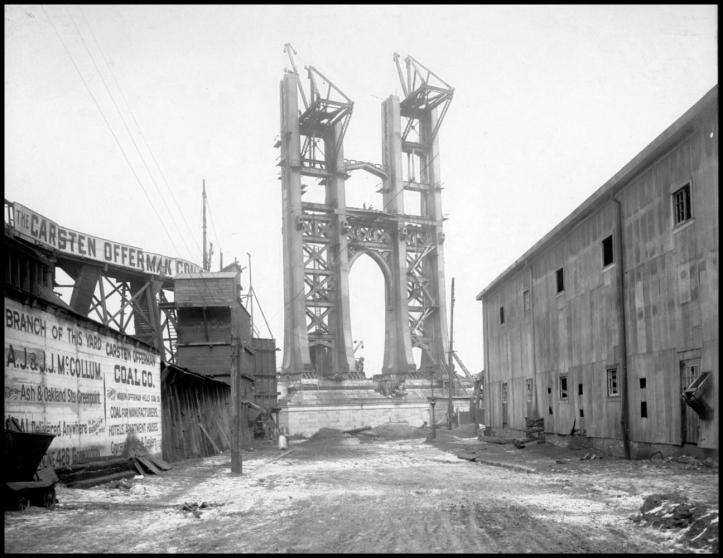 Manhattan Bridge,  1908