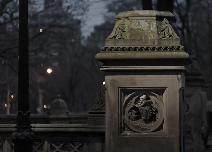 Bruja en Central Park
