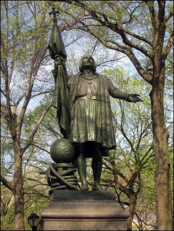 Monumento a Cristóbal Colón en Central Park