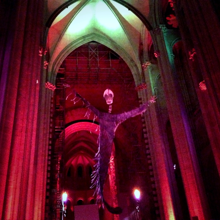 Procession of the Ghouls at St. John the Divine