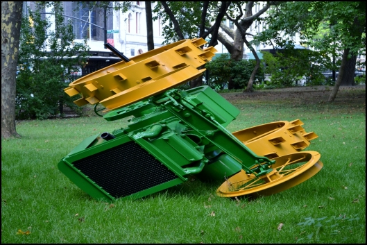 """John Deere Model D"" - James Angus"