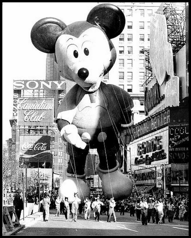Globo de Mickey Mouse 1973