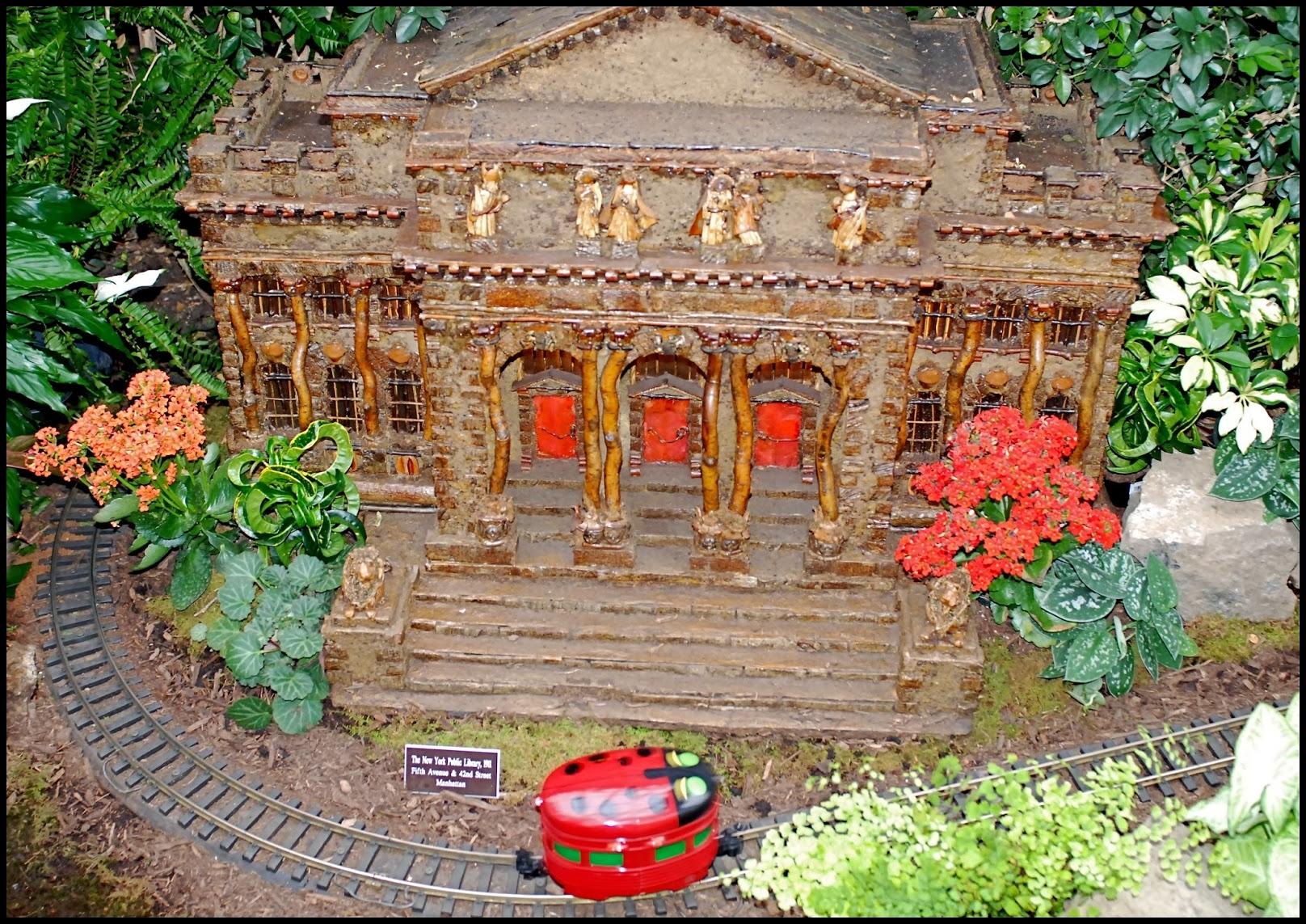 Holiday Train Show New York Botanical Autos Weblog