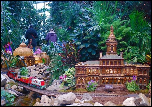 New York Botanical Garden's Holiday Train Show 009