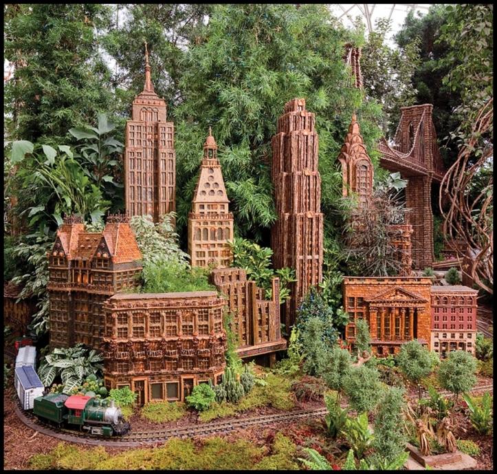 New York Botanical Garden's Holiday Train Show003