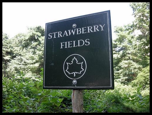 Strawberry Fields Memorial