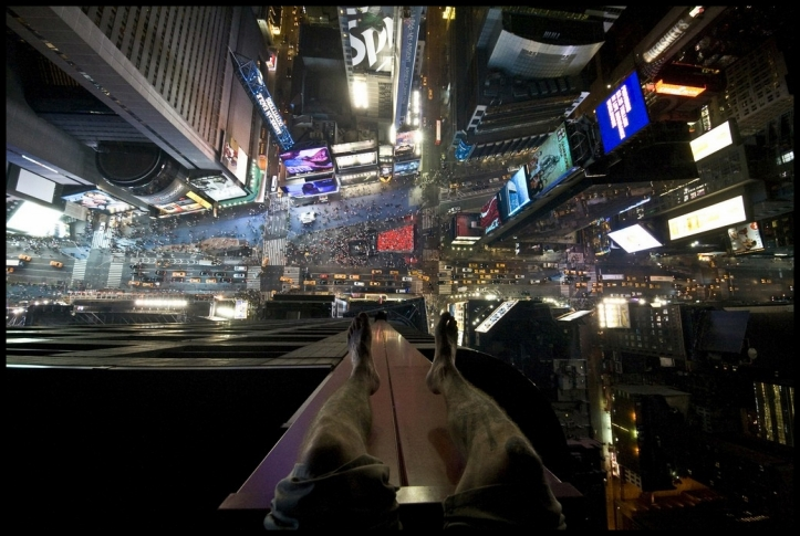 'Times Square from above'  Joseph Carnevale