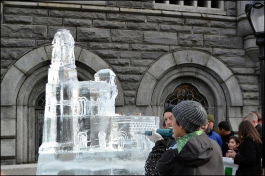 Central Park Ice Festival 2