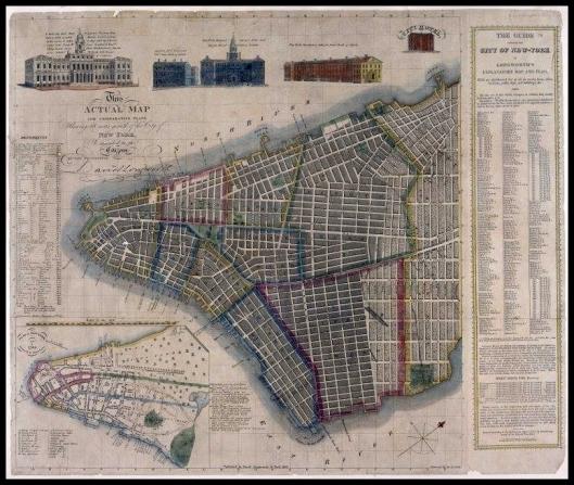 New York City, 1817