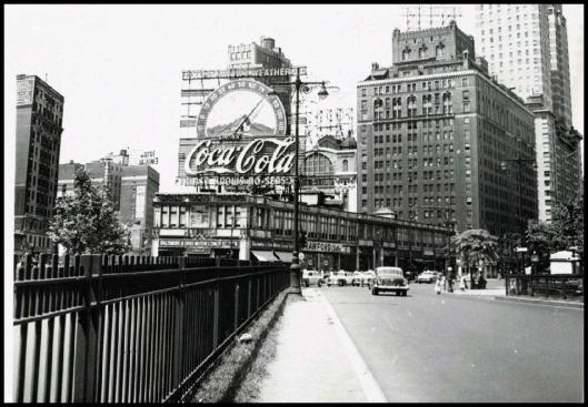 Columbus Circle 1954