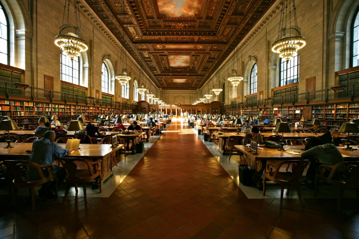 Grand Study Hall New York Public Library