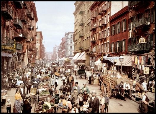 Mulberry Street, NY, 1900