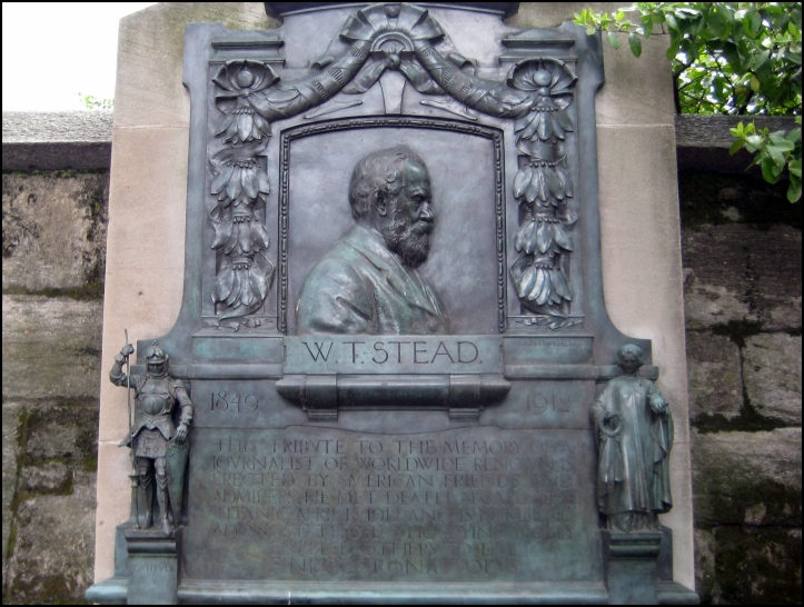 William T. Stead memorial